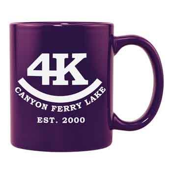CM2000DP - 11oz. Ceramic Mug - Dark Purple