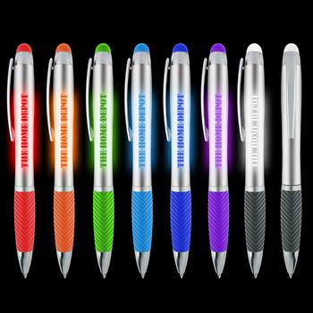 CPISTL25S - Silverado Stylus Light Up Pen